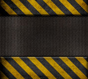 Industrial metal template background Stock Photos