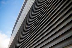 Industrial metal wall Stock Photo