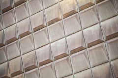 Industrial metal wall panels Royalty Free Stock Photos
