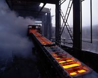 Industrial metallurgy Royalty Free Stock Photography