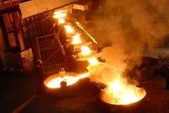 Industrial metallurgy Royalty Free Stock Photos