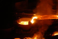 Industrial metallurgy Stock Photos