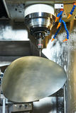 Industrial metrology tool work Royalty Free Stock Images