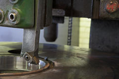 Industrial milling machine Stock Photography