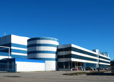 Industrial, modern building, Royalty Free Stock Image