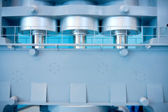 Industrial mold processing equipment Royalty Free Stock Photos