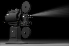 Industrial Movie Projector Royalty Free Stock Image