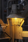 Industrial night lamp closeup Royalty Free Stock Photography