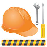 Industrial objects vector Royalty Free Stock Photo