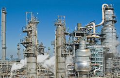 Industrial Oil Refinery stock photos