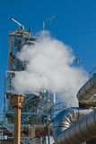 Industrial Oil Refinery Stock Photo