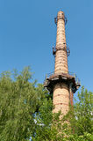 Industrial old brick chimney Royalty Free Stock Photos