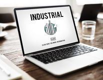 Industrial Organization Factory Structure Development Constructi Stock Photo