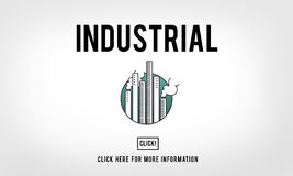 Industrial Organization Factory Structure Development Constructi Royalty Free Stock Photo