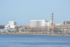Industrial outskirts of St. Petersburg. Stock Photography
