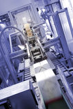 Industrial packaging machine Stock Photography
