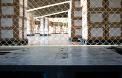 Industrial pallet in warehouse Stock Photography