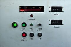 Industrial panel Stock Photo