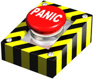 Industrial Panic button Stock Photography