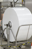 Industrial paper roll royalty free stock images