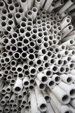 Industrial paper tubes. Royalty Free Stock Photos