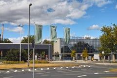 Industrial Park Frankfurt Hoechst Royalty Free Stock Photos