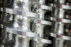 Industrial parts Royalty Free Stock Photos