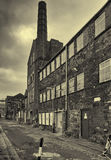 Industrial Past. Sheffields Industrial past in abstract monochrome Royalty Free Stock Photography