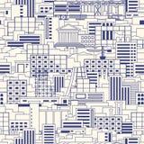 Industrial pattern linear Stock Image