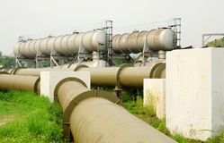 Industrial pipe Royalty Free Stock Image