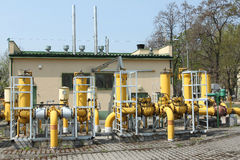 Industrial pipeline Royalty Free Stock Photography