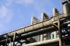 Industrial Pipeline Stock Photography