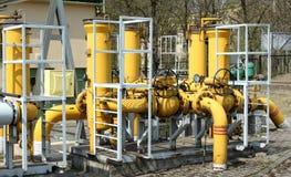Industrial pipeline Stock Image
