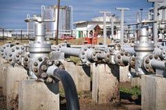 Industrial pipeline Stock Photos