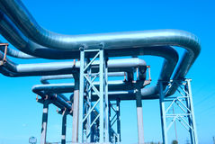 Industrial pipelines Royalty Free Stock Photo
