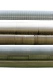 Industrial pipelines Stock Image