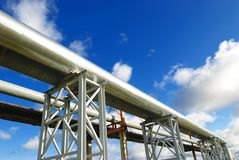 Industrial Pipelines Stock Images
