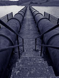 Industrial pipelines Royalty Free Stock Photography