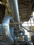 Industrial pipes. Royalty Free Stock Photos