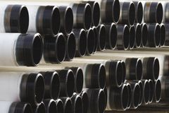 Industrial pipes Royalty Free Stock Image