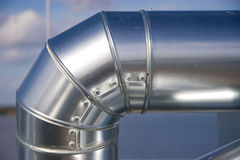 Industrial Piping Royalty Free Stock Photo