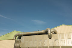 Industrial piping. Royalty Free Stock Photos