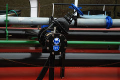 Industrial piping Stock Images