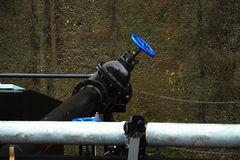 Industrial piping Stock Photography