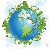 Industrial Planet Royalty Free Stock Photos