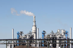 Industrial plant. Plant in the surroudings of Rotterdam stock photography