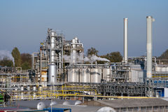 Industrial plant Stock Images