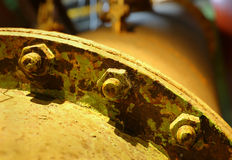Industrial Plant Detail Stock Photo