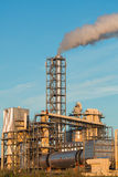Industrial plant with exhausts Royalty Free Stock Photography