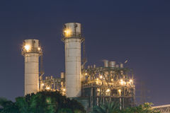 Industrial plant. Oil petroleum industrial, plant, factory Stock Photo